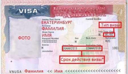 На сколько выдается виза в сша